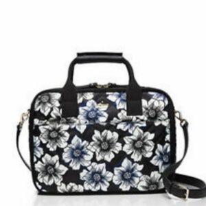 Kate Spade Ridge Street Scottie Topper luggage nwo